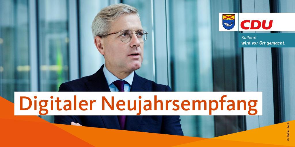 Norbert Röttgen ist bei der CDU Kalletal zu Gast